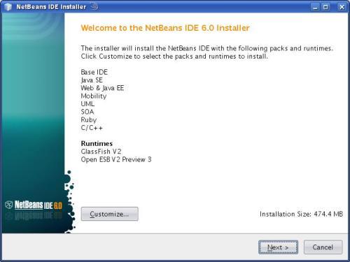 Instalasi Netbeans 6.0 pada OpenSUSE 10.3